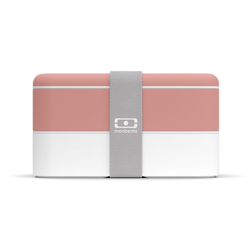 Bento MB original rose flamingo et blanc 1 l 9.4 x 10 x 18.5 cm - Monbento