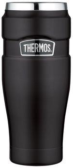 Mug isotherme noir King 470 ml  - Thermos