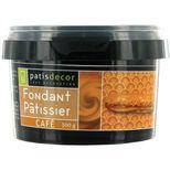 Fondant pâtissier café 300 gr - Patisdecor