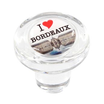 Bouchon en verre i love bordeaux - Cevenpack