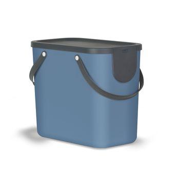 Achat en ligne Poubelle Albula bleue 25 l - Rotho