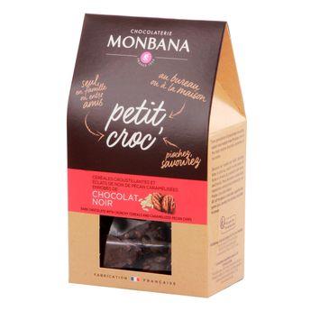 Achat en ligne Petit croc chocolat noir 120gr - Monbana