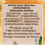 Arôme alimentaire bio amande 58 ml - Trésors de Chefs