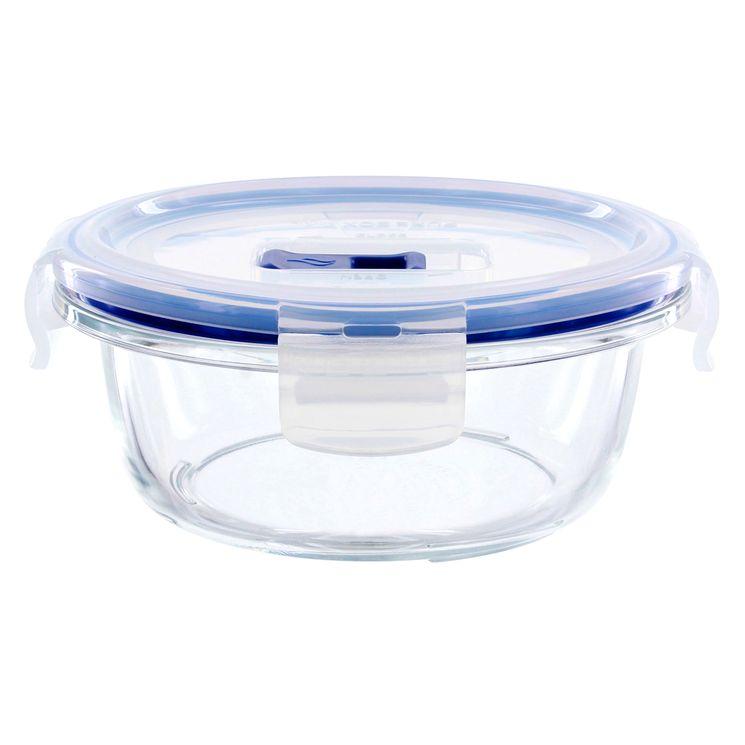 Boite hermétique Pure Box ronde en verre 42 cl 6.1 x 13.6 cm - Luminarc