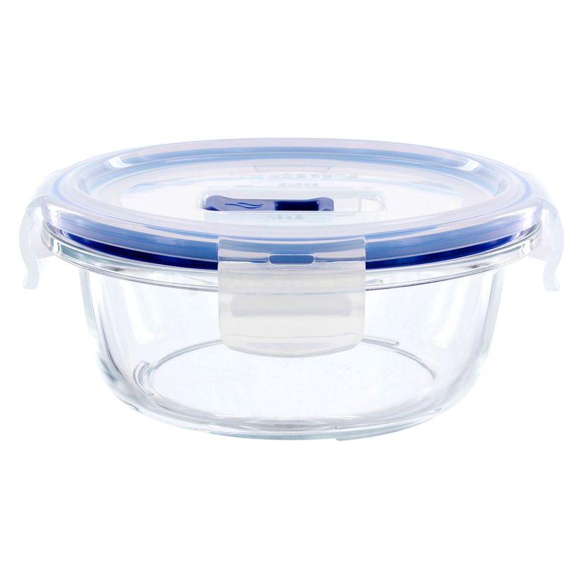 Boite hermétique Pure Box ronde en verre 42cl 6.1x13.6 cm - Luminarc