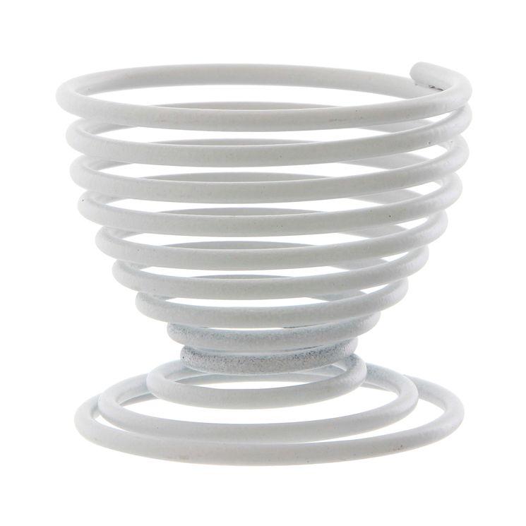 Coquetier filaire blanc - Point Virgule