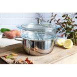 Set cuiseur vapeur inox  Master 24cm - Cristel