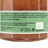Confiture pomme poire caramel bio 210 g  L´Epicurien