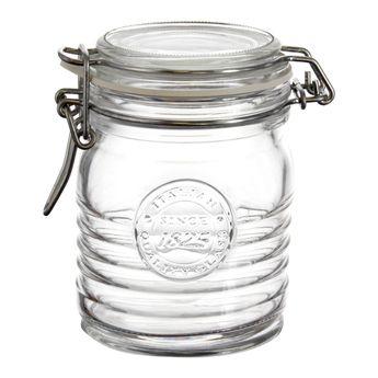 Achat en ligne Bocal de conservation hermétique en verre officina 0.35L - Bormioli