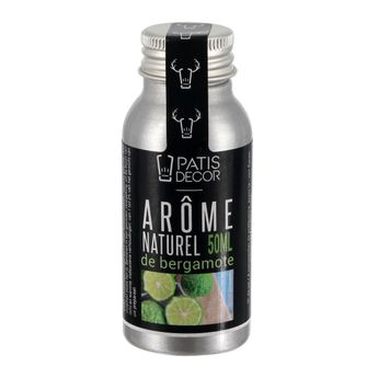 Arôme alimentaire naturel bergamote 50ml - Patisdecor