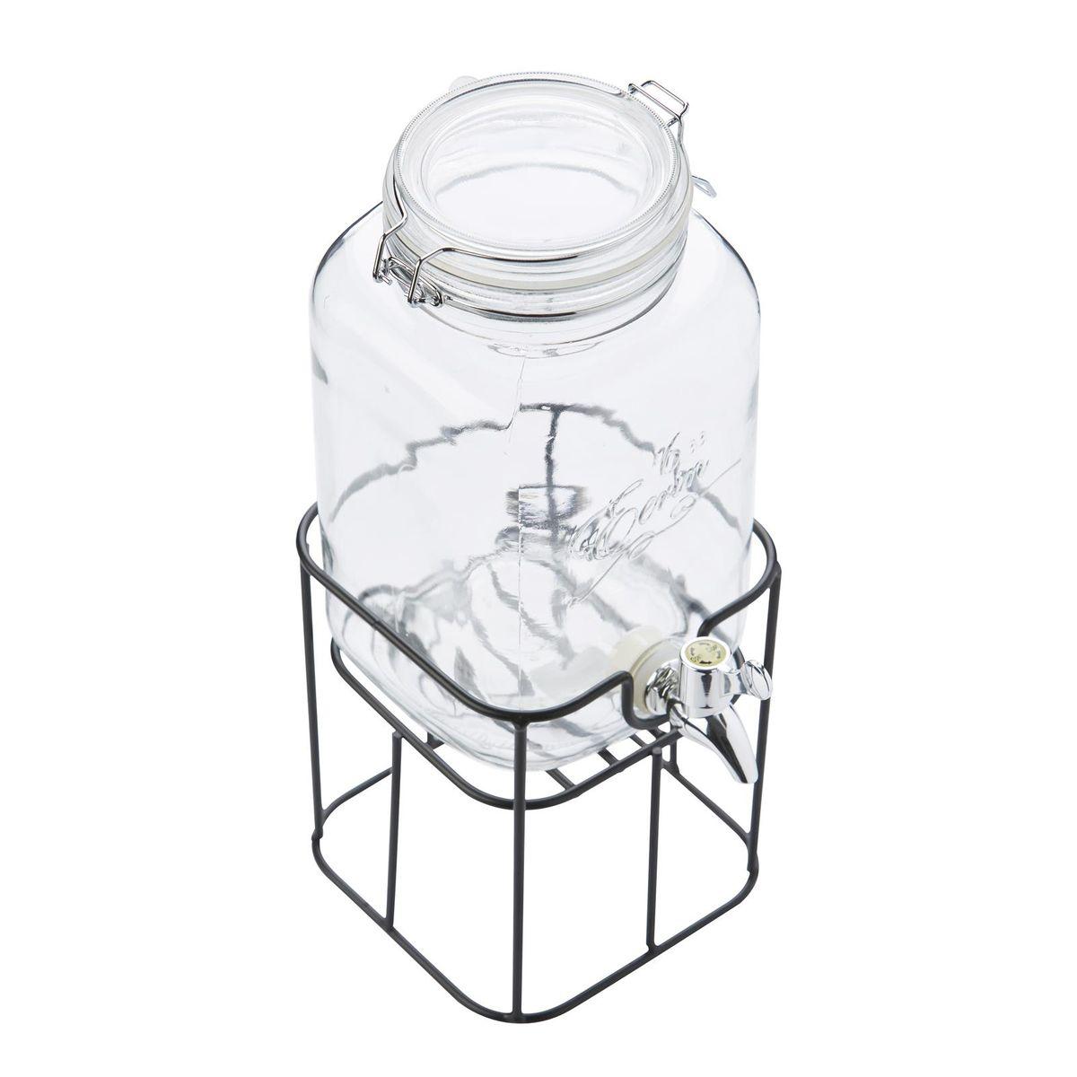 Distributeur de boisson 3.6L avec support métal - Point Virgule
