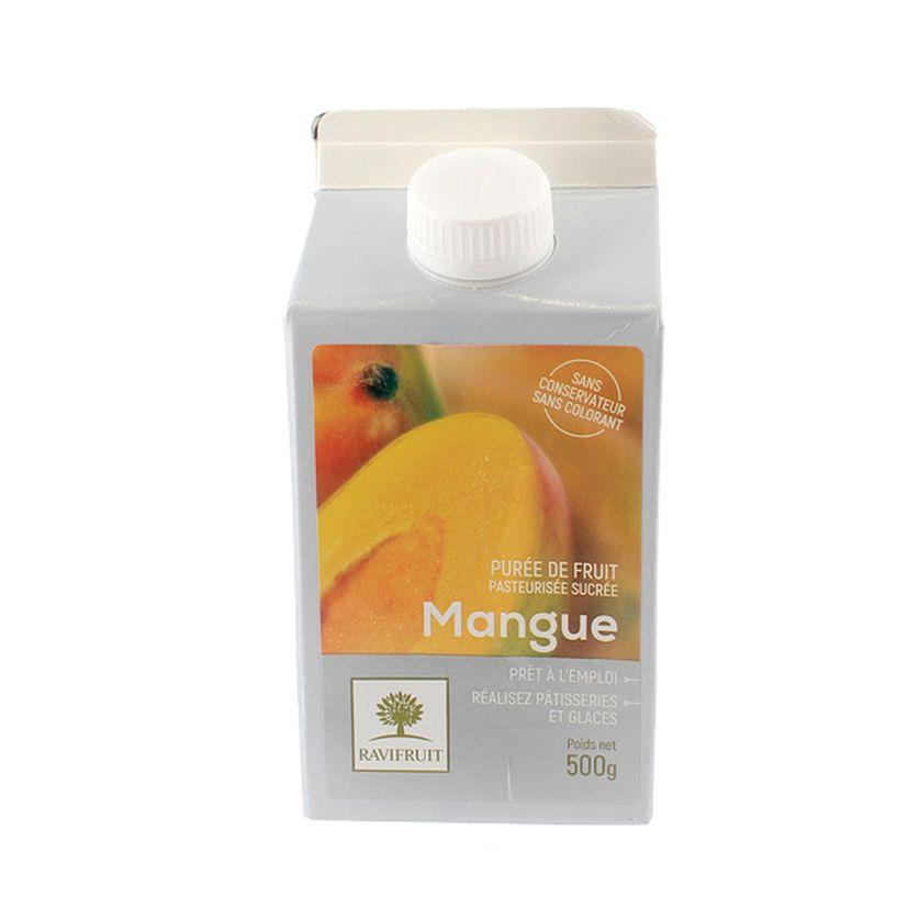 Purée de mangue 500 ml - Ravifruit