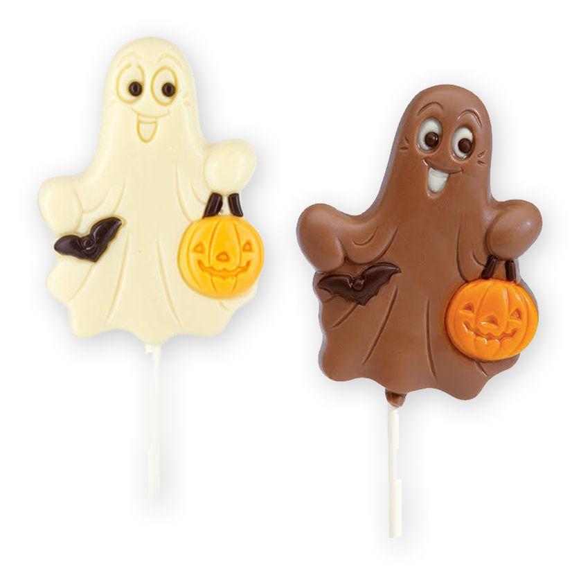 Sucette fantôme en chocolat 30gr - Belfine