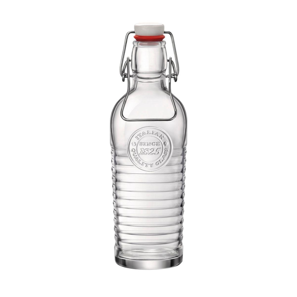 Bouteille en verre transparent 0.75L Officina - Bastide