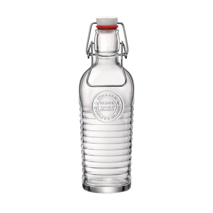 Bouteille Officina en verre transparent 0.75L - Bastide