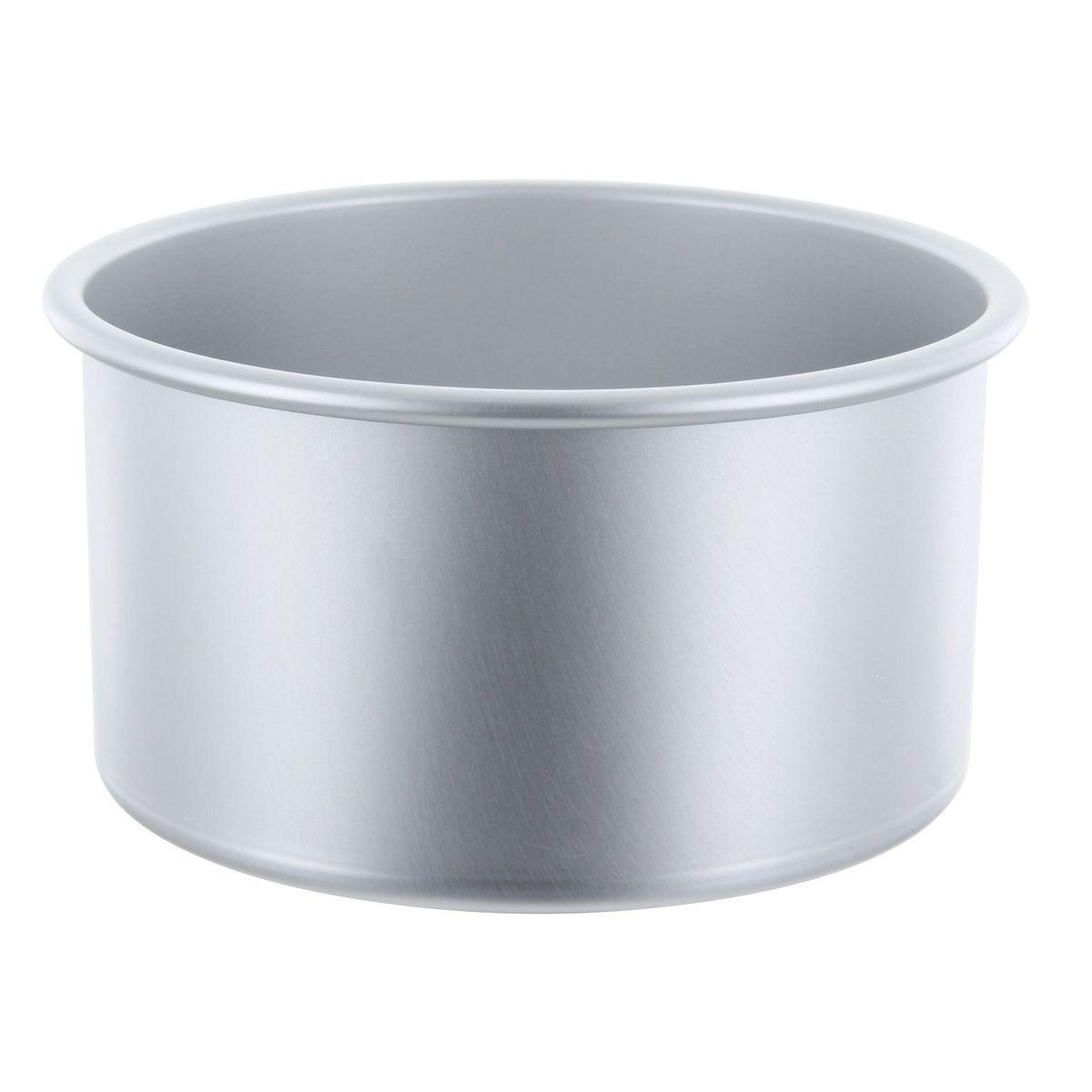 Moule à bords hauts en aluminium 10 x 18 cm - Patisdecor