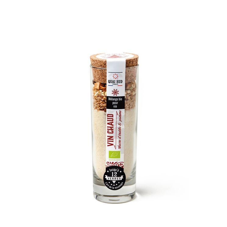 Mélange vin chaud Bio au sucre d´erable et à la pomme 140g - Quai Sud