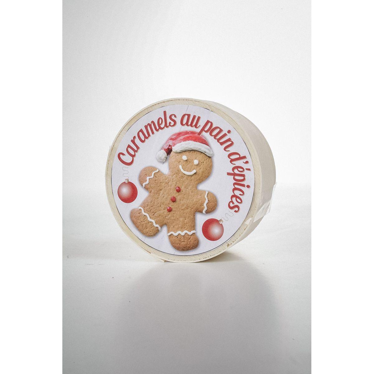 Mini boîte bois pain d'épice 50g - La Maison d'Armorine