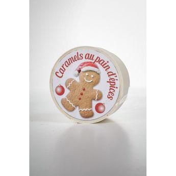 Achat en ligne Mini boîte bois pain d'épice 50g - La Maison d'Armorine