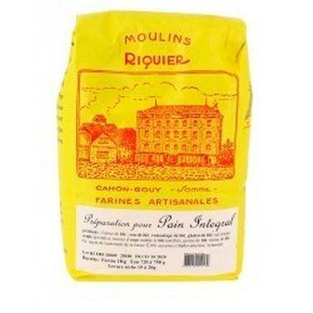 Achat en ligne Préparation pour pain intégral 1 kg - Moulins Riquier