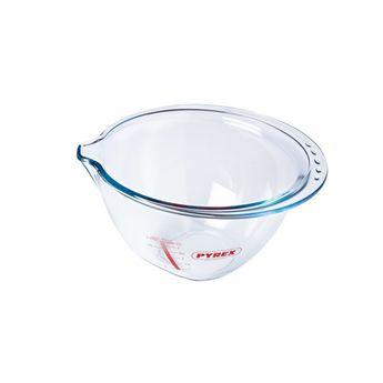 Achat en ligne Bol de préparation en verre transparent avec bec verseur 4.2 l - Pyrex