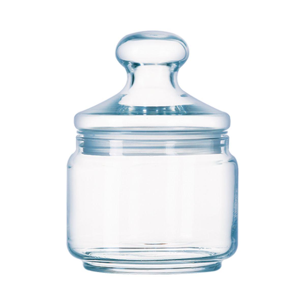 Bonbonnière en verre 0,5L 10cmx10cmx14.5cm - Luminarc