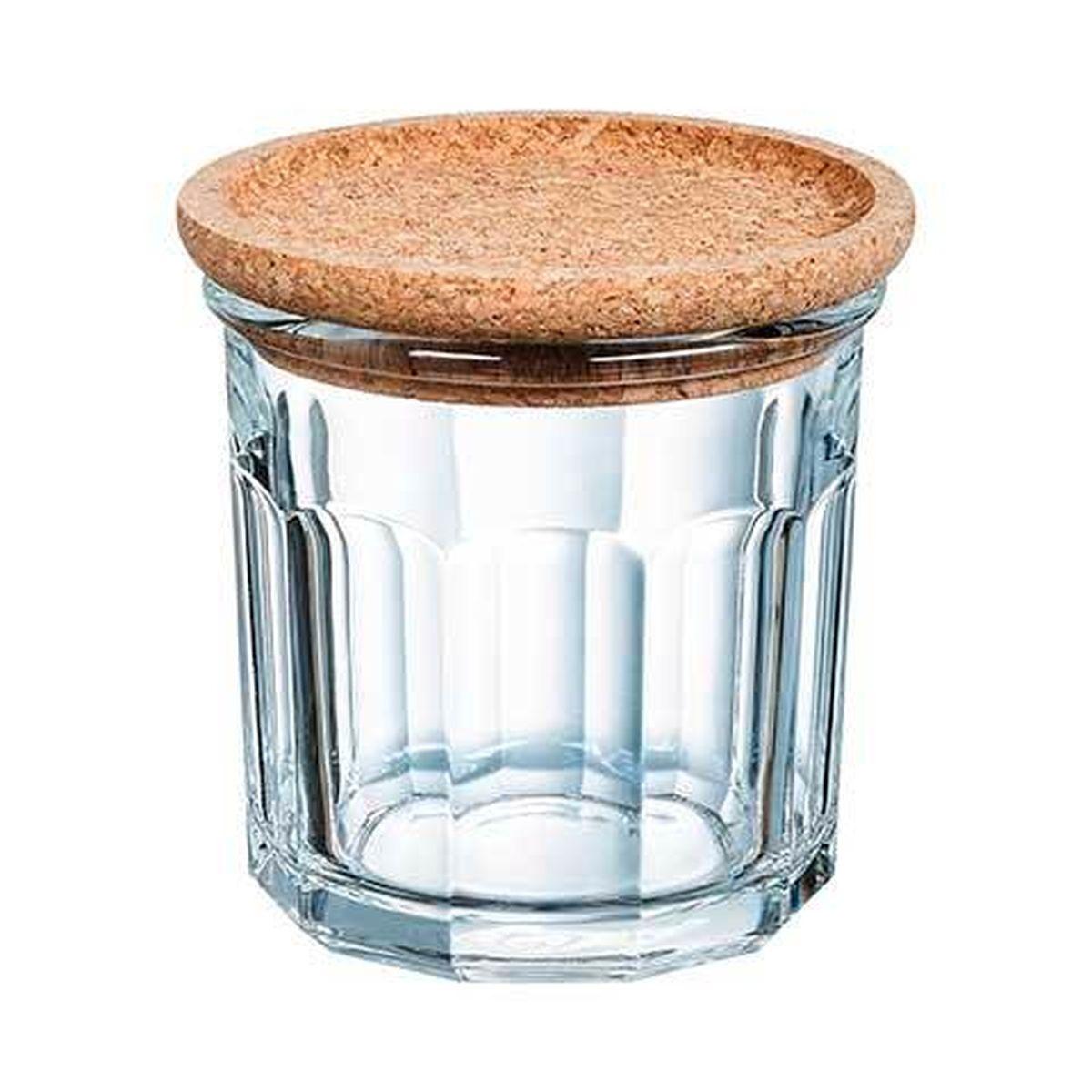 Pot à épices en verre avec couvercle liège 42cl - Luminarc