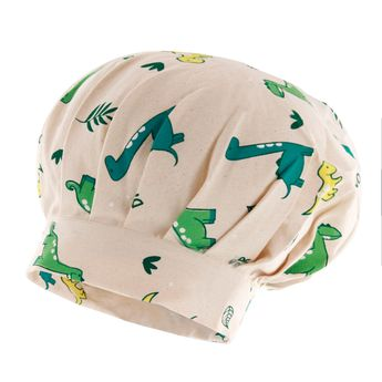 Achat en ligne Toque enfant en coton dinosaure 24 x 26 cm