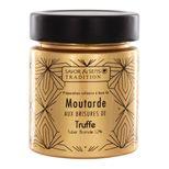 Moutarde jus de truffe pot sérigraphié doré 130g - Savor et Sens
