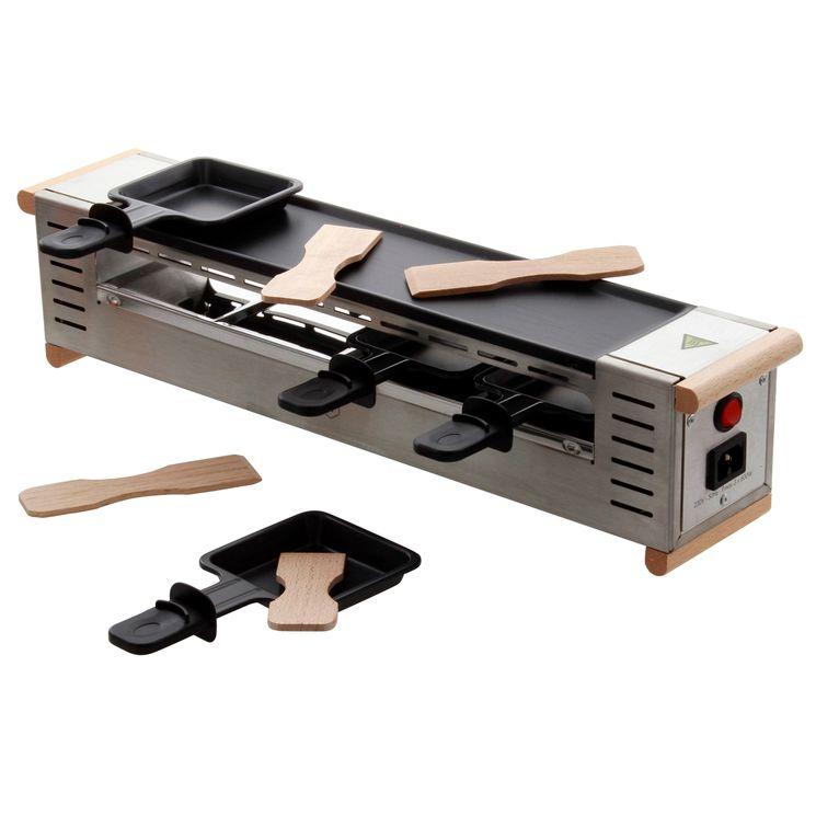 Appareil à raclette professionnel 4 personnes. 230 V