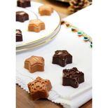 Moule à chocolat en silicone 15 étoiles de Noël 11 x 24 cm - Silikomart