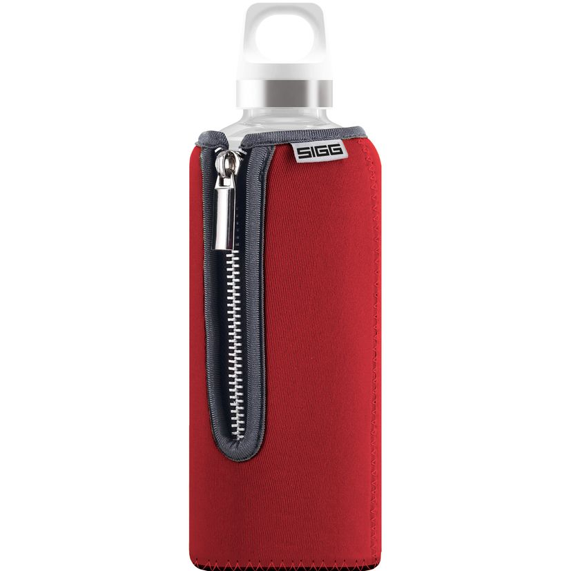 Bouteille verre Stella rouge 50 cl 22.5 x 7.6 cm - Sigg