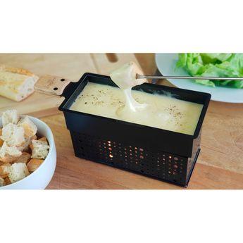 Achat en ligne Coffret cadeau fondue fromage. fondue au chocolat et raclette à la bougie - Cookut