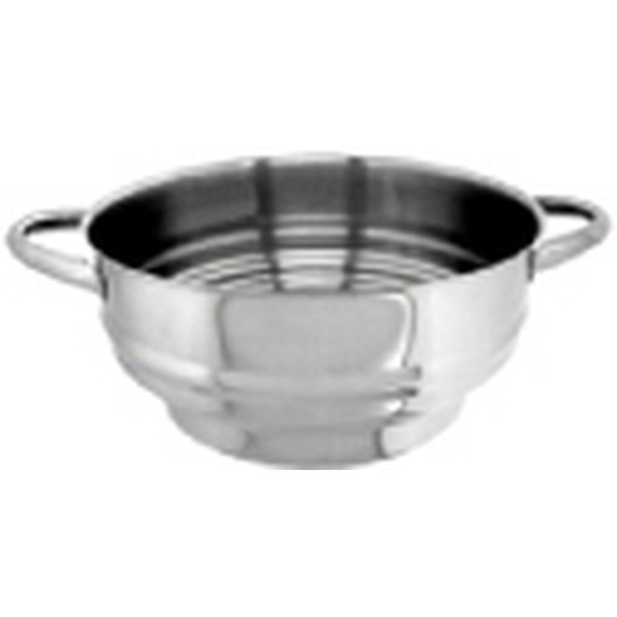 Cuit vapeur inox multi diamètres16 - 24 cm - Alice Delice