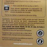 Préparation panettone bio 350gr sans gluten - Alice Délice