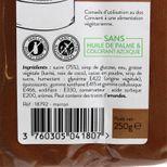 Pâte à sucre marron 250g sans huile de palme