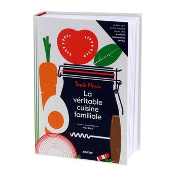 Achat en ligne La veritable cuisine familiale de tante marie - Editions du Chêne