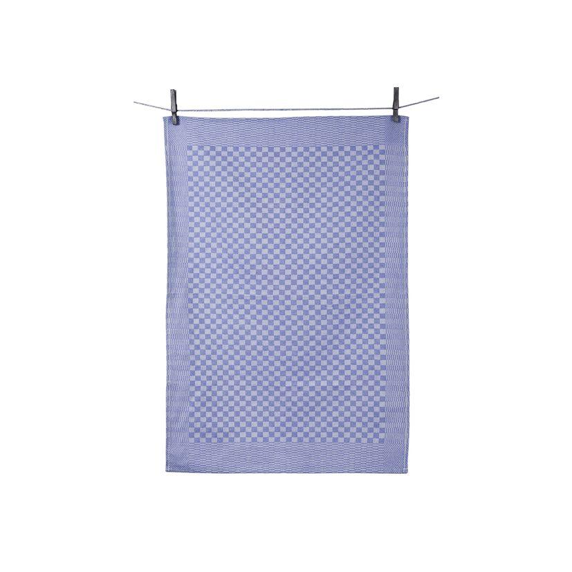 Torchon Tradi couleur bleu - Tissage de l´ouest