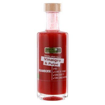 Achat en ligne Vinaigre pulpe de framboise bio 25cl - Savor et Sens