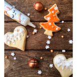 Stylo glaçage blanc pour décorer les biscuits 32g