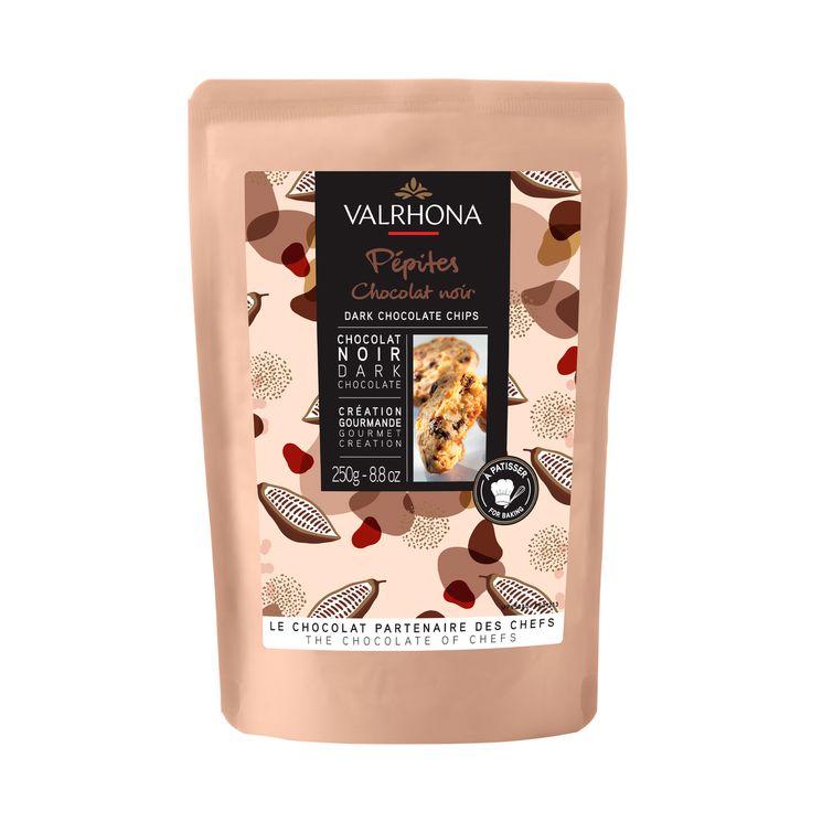 Pépites de chocolat noir 250 gr - Valrhona