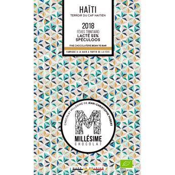 Achat en ligne Chocolat Haiti Bio Lait spéculos 70g - Millésime