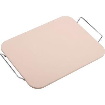 Achat en ligne Pierre à pizza rectangulaire 38 x 30 cm en céramique beige - Westmark