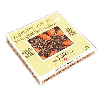 Achat en ligne Tablette de chocolat noir à la fleur de sel 85g - Monbana