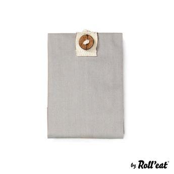 Achat en ligne Sac à sandwich Boc'n'roll gris coton bio - Roll Eat