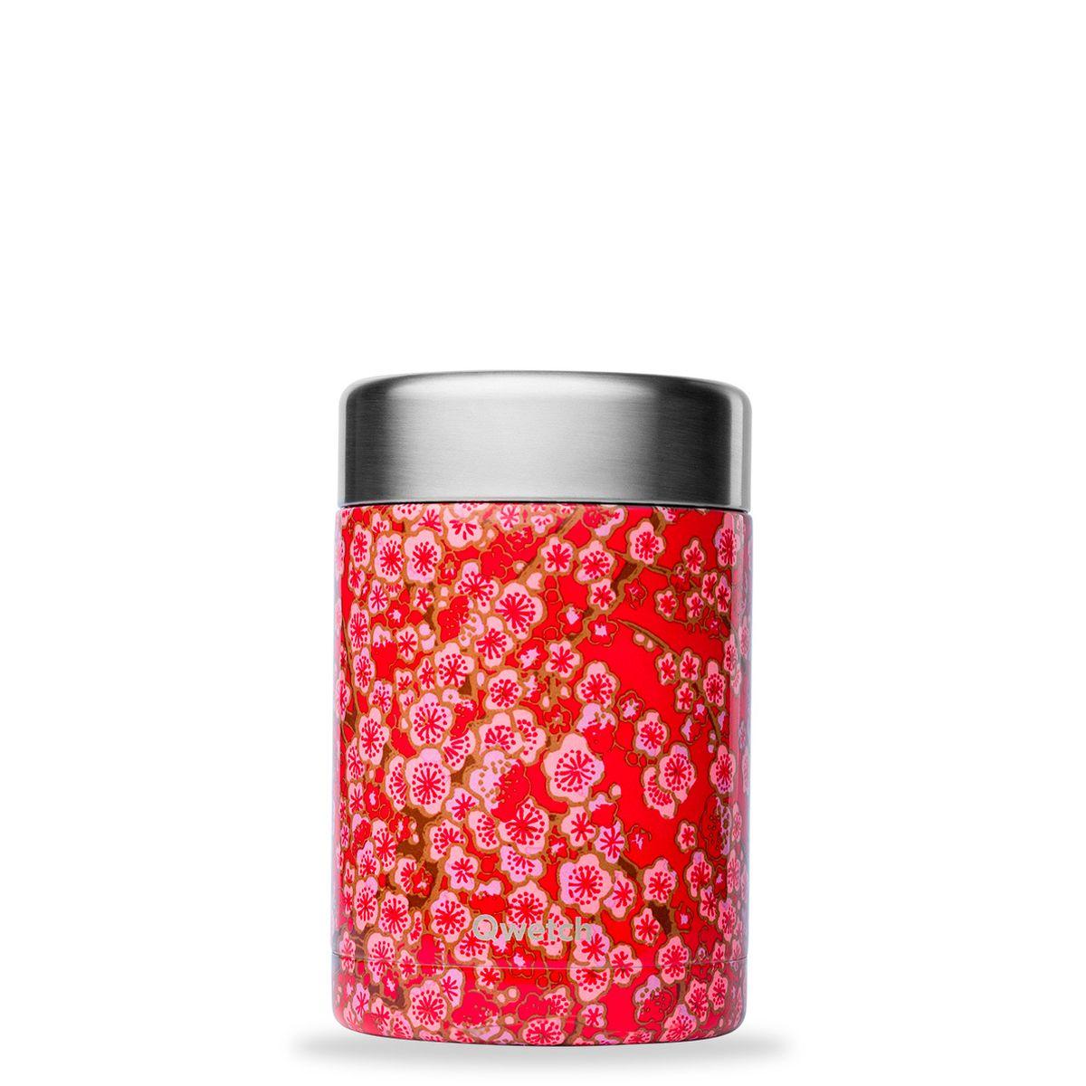 Boîte repas et soupe en inox Flowers 650ml - Qwetch