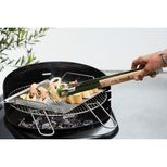 Pince en inox et bois 40 cm - Barbecook