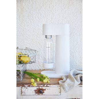 Achat en ligne Machine à gazéifer l´eau en composite blanc - Mysoda
