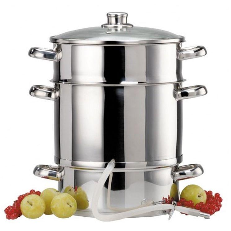 Extracteur de jus inox diamètre 26 cm - Baumalu