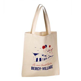 Achat en ligne Totebag Bercy Village 100% coton - Tissage de L´Ouest